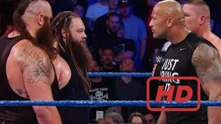 # 2017 # Omg!! The Rock Jone Cena Vs  Braun Strowman  John Cena Saves The Rock Wwe Wrestlemania