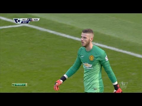 David De Gea Vs. Manchester City 14-15 [Away] [HD 720p]