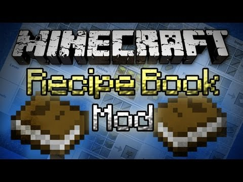 Minecraft: Recipe Book Mod - In-Game Crafting Helper!