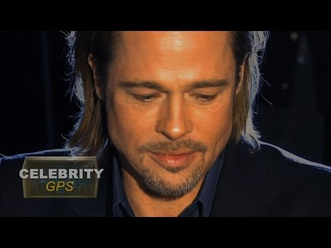Brad Pitt assaulted on the red carpet - Hollywood.TV