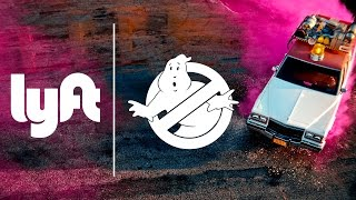 Ghost Mode: Lyft x Ghostbusters