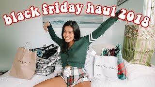 Black Friday Haul 2018! (i did damage)