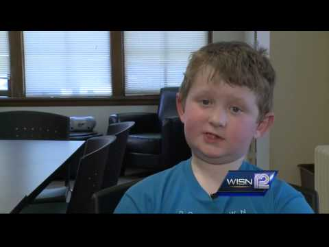 Milwaukee boy who wished for chocolate bullets shows off letter from V.P. Joe Biden