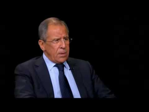 Interview with Russian FM Lavrov in New York - September 2012