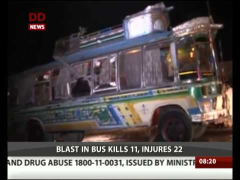 Pakistan bus blast kills 11 in Quetta