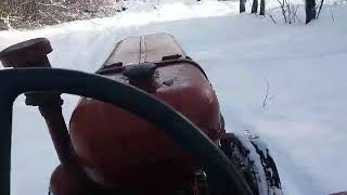 Tractor DT-20 winter