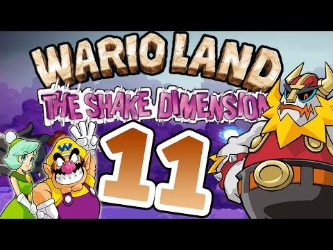 Let's Play Wario Land The Shake Dimension Part 11: König Rüttelberts BigBangKamehameha Finale [ENDE]
