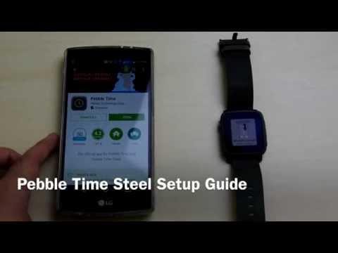 Pebble Time Steel Setup Guide