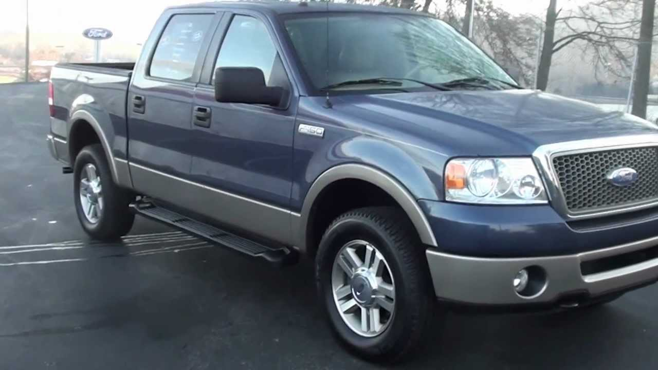 for sale 2006 ford f 150 lariat new michelin tires stk. Black Bedroom Furniture Sets. Home Design Ideas