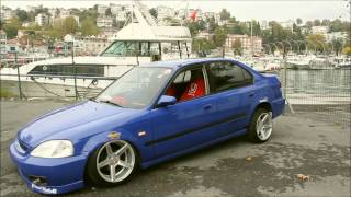 Air Suspension Honda Civic EK İstanbul | Feyyaz Garaj