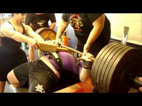 Scott Dobbins - Single Ply Powerlifting Bench Press Training w/ 585 @ KPG - 5/11/13 Image 1