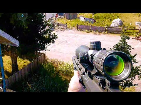 FAR CRY 5 - 10 Minutes of Gameplay Demo (PS4 XBOX ONE PC) - Developer  Walkthrough 2017