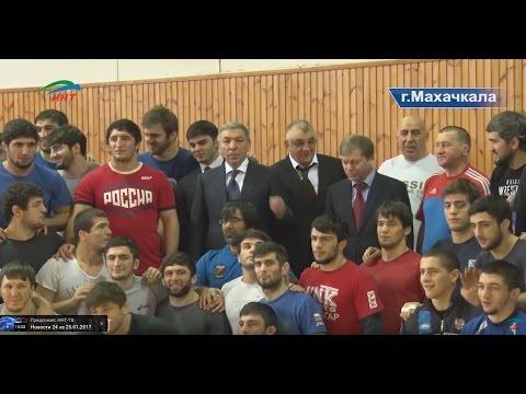 Сборная Дагестана по вольной борьбе готовится к мемориалу Ивана Ярыгина 2017 г.