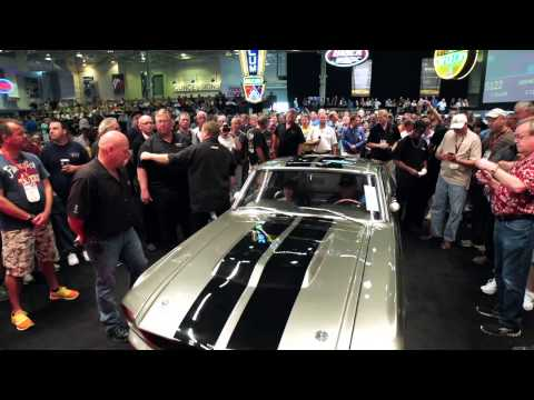 Million Dollar Mustangs at Mecum Indy 2013