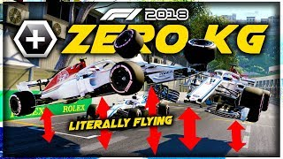 What Happens When A WHOLE GRID OF F1 CARS WEIGHS ZERO KILOGRAMS?! - Game Breaking F1 Experiment!
