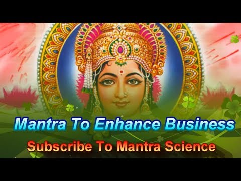 Mantra For Gains In Business & Profits - Dashakshar Mahalakshmi Mantra video