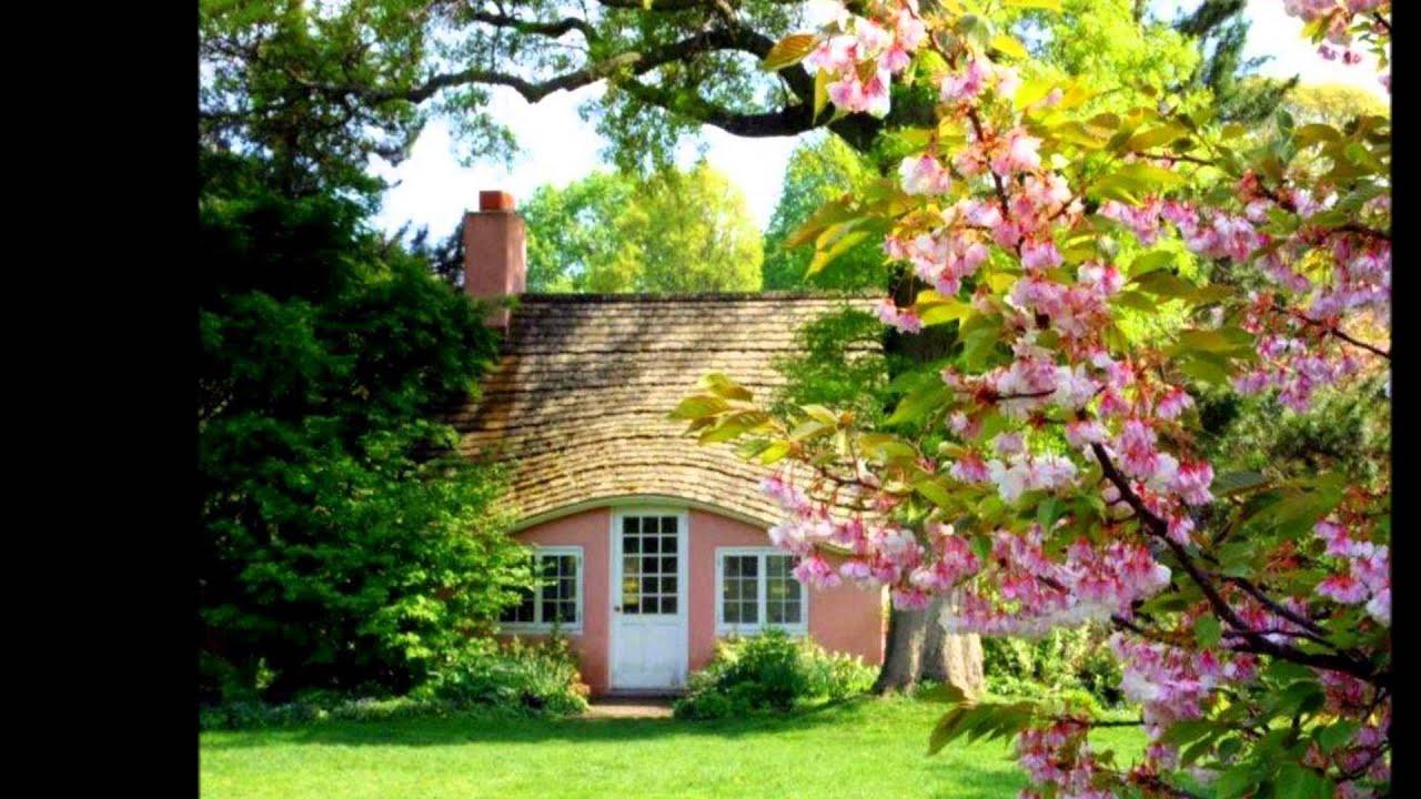 Casas y jardines de cuento de hadas hd 3d arte y for Jardines bellos fotos