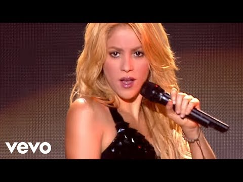 Shakira - Loca (Live From Paris) Music Videos