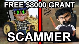 Trolling A Free $8000 Grant Scammer - The Hoax Hotel