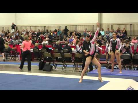 Annie Gruner  of HIll's Gymnastics - JO Nationals 2016 - Fort Worth Texas