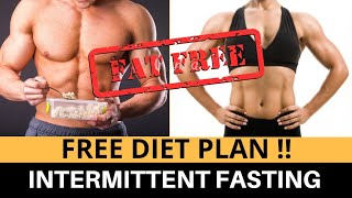 [VLOG 10] FREE Intermittent Fasting Diet Plan For Muscle Gain/Fat Loss| Best Diet For Students