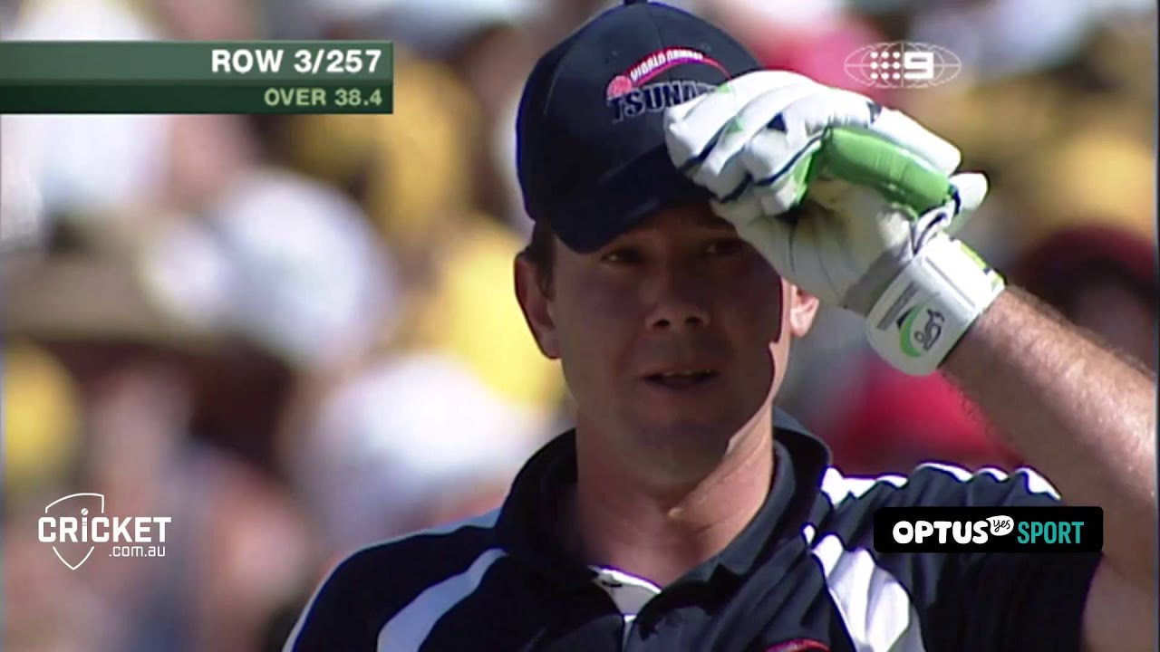 From the Vault: Ponting on top of the world
