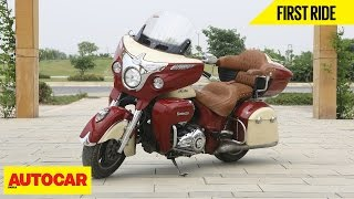 Indian Roadmaster | First Ride | Autocar India