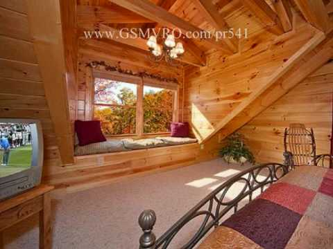 Super luxury 5 bedroom log cabin in sevierville pigeon for 5 bedroom log homes