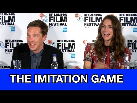 Benedict Cumberbatch & Keira Knightley Interviews - Full The Imitation Game Press Conference