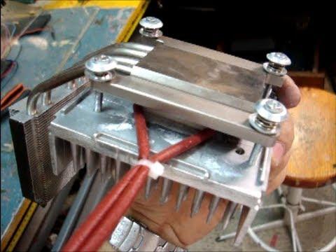 Thermoelectric Generator Peltier TEG Diy ☼