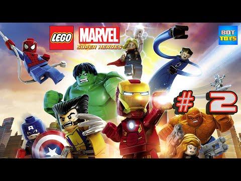 Lego Marvel Super Heroes #2 El Hombre Araña Gameplay PS4 con Audio Español Latino