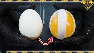 How to Carve a RAW Egg