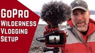 Rode VideoMicro Wind Test Gopro Vlogging Camera setup for Outdoors