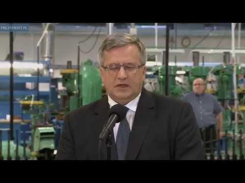 Prezydent W Fabryce Broni Łucznik W Radomiu