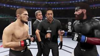 Khabib vs. Big Boss (EA Sports UFC 2)