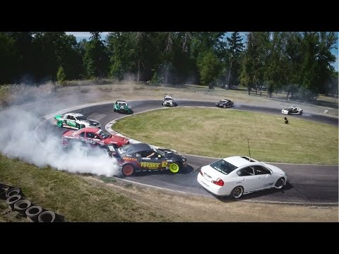 Gopro: Twelve Car Tandem Drift video