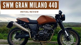 2018 SWM Gran Milano 440 Motorcycle Review - A Modern Classic Cafe Racer