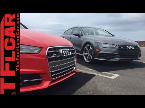 2016 Audi S6 vs S7 Mega Mashup Review: Clash of the S Titans