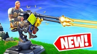 *NEW* OP TURRETS! Playing with Viewers! (Fortnite Update)
