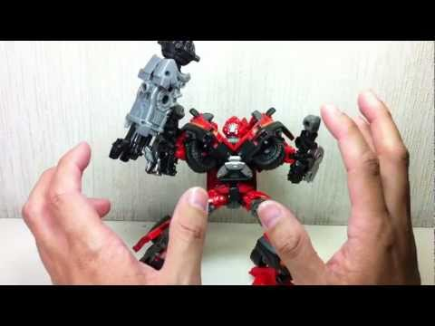 Transformers DOTM Voyager Cannon Force Ironhide