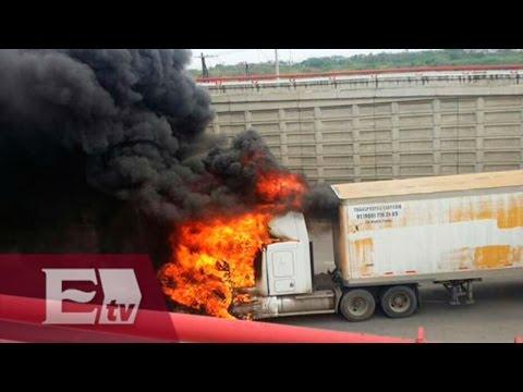 Se registran balaceras y vehículos incendiados en Tampico / Vianey Esquinca