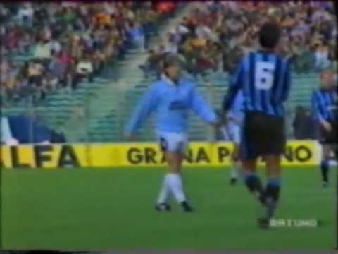 13° Giornata del Campionato 1992/1993 Goals : 60' D.Fuser (Lazio) 73' A.Winter (Lazio) 76' D.Fontolan (Inter) 84' G.Signori (Lazio)