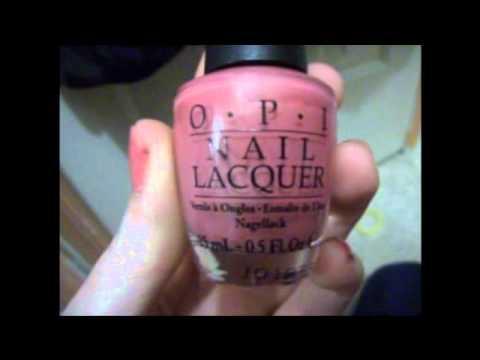 O.P.I Nail Lacquer - Shanghai Shimmer; 1st Nail Review
