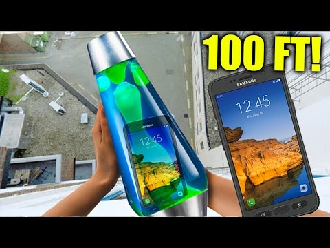 Can a Lava Lamp Protect Samsung Galaxy S7 Active from 100 FT?!!