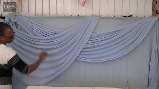 Learn how to make Large Swags