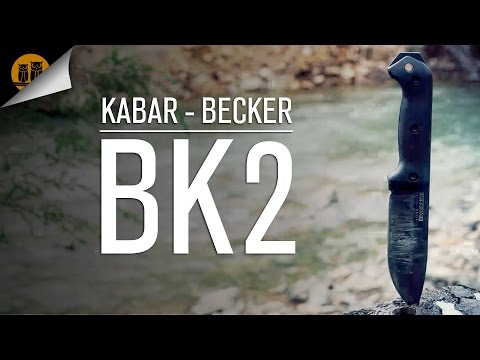 KABAR - Becker BK2 Survival Knife Review