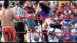 Mind Blowing Tag Team Match -  Ladies Wresling