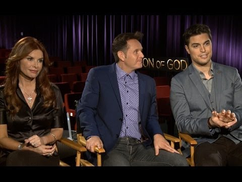 Son of God Official Trailer & Cast Interview: Diogo Morgado, Roma Downey, and Mark Burnett