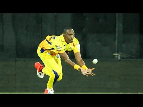 IPL 8: Dwayne Bravo's most stunning catch ever