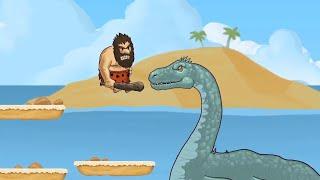 Caveman Chuck Adventure Level 10-11 Game for Kids